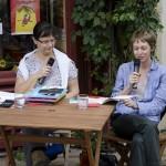 KFES 2012 - Betty Bone interviiewée par Marie-Agnès Jobin. Au Bonheur du jour.