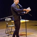 KFES 2012 - Café de la poésie action Christophe Manon. Le Calepin