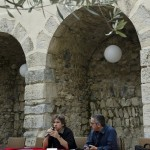 """KFES 2012 - Lecture de """"La vie moderne"""" de Christian Prigent par Julien D'Abrigeon et Thierry Guichard. Le St Mart'"""