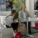 Cafés littéraires Montélimar 16 e édition-Village,Signature