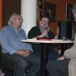 Cafés littéraires Montélimar 15 e édition-Jean-Claude Seine et Lionel Bourg