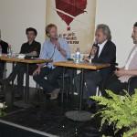 Cafés littéraires Montélimar 15 e édition-Table ronde musique: Olivier Bellamy et Fabio Viscogliosi interviewé par Yann Nicol