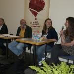 """Cafés littéraires Montélimar 15 e édition-Table ronde""""perversité du monde contemporain"""""""