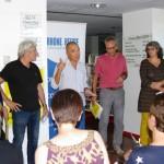 Conférence de presse.Le Teil; Cafés littéraires 2015