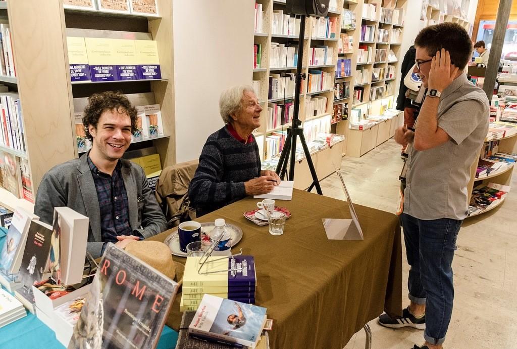 Arthur Dreyfus & Dominique Fernandez. Librairie Baume