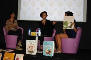 Emmanuelle Houdart. Kim & Stephanie de la Médiathèque