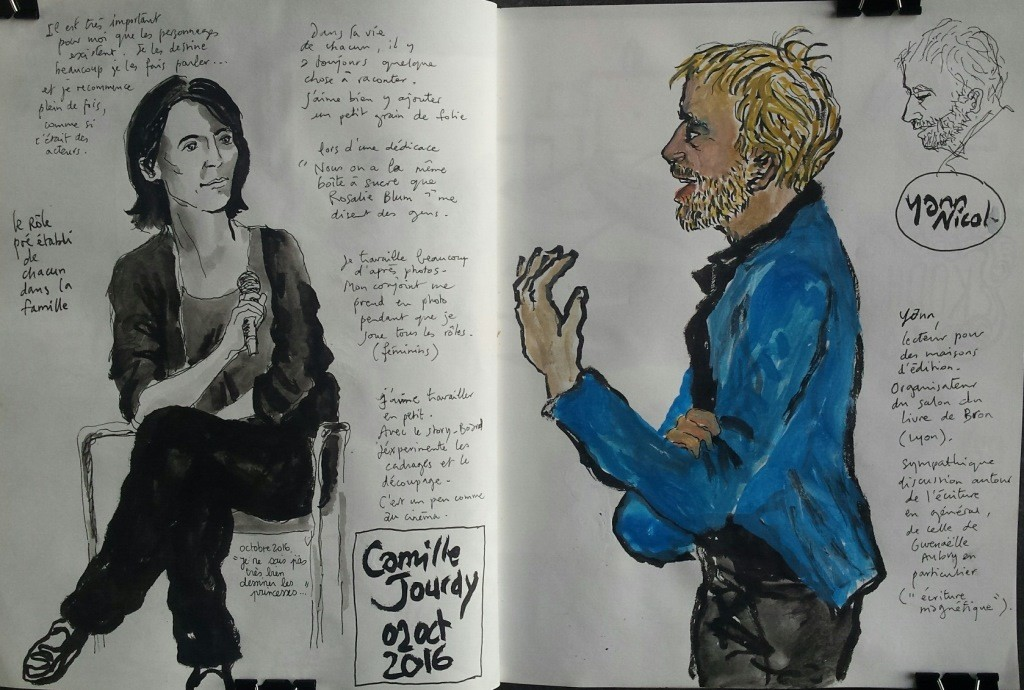 Camille Jourdy. Croquis S. Caro