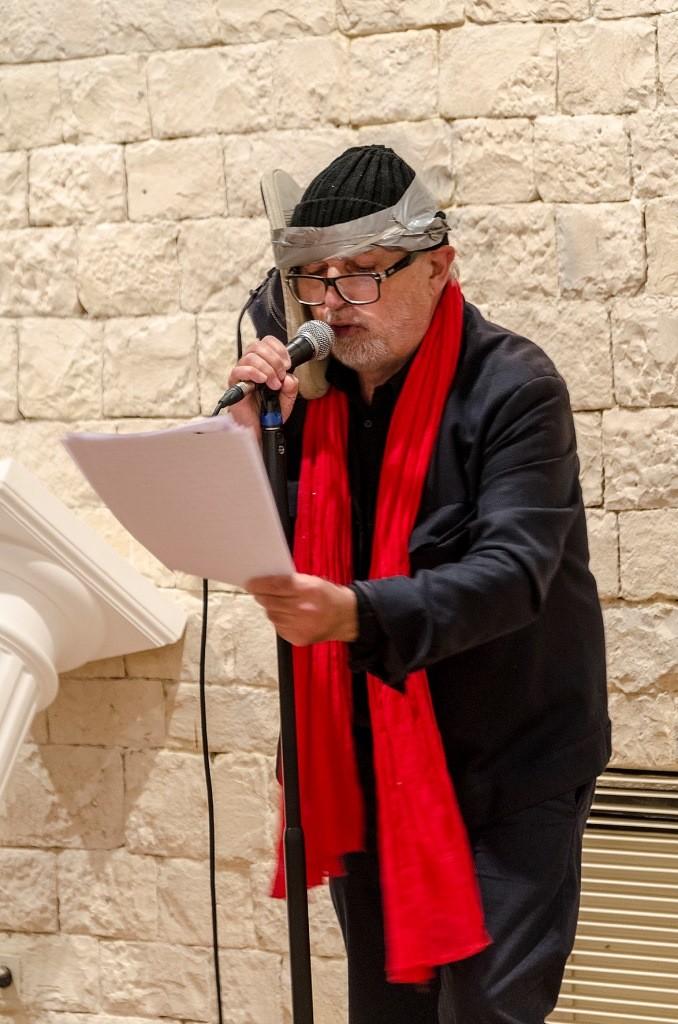 Joel Hubaut. Lecture performance.