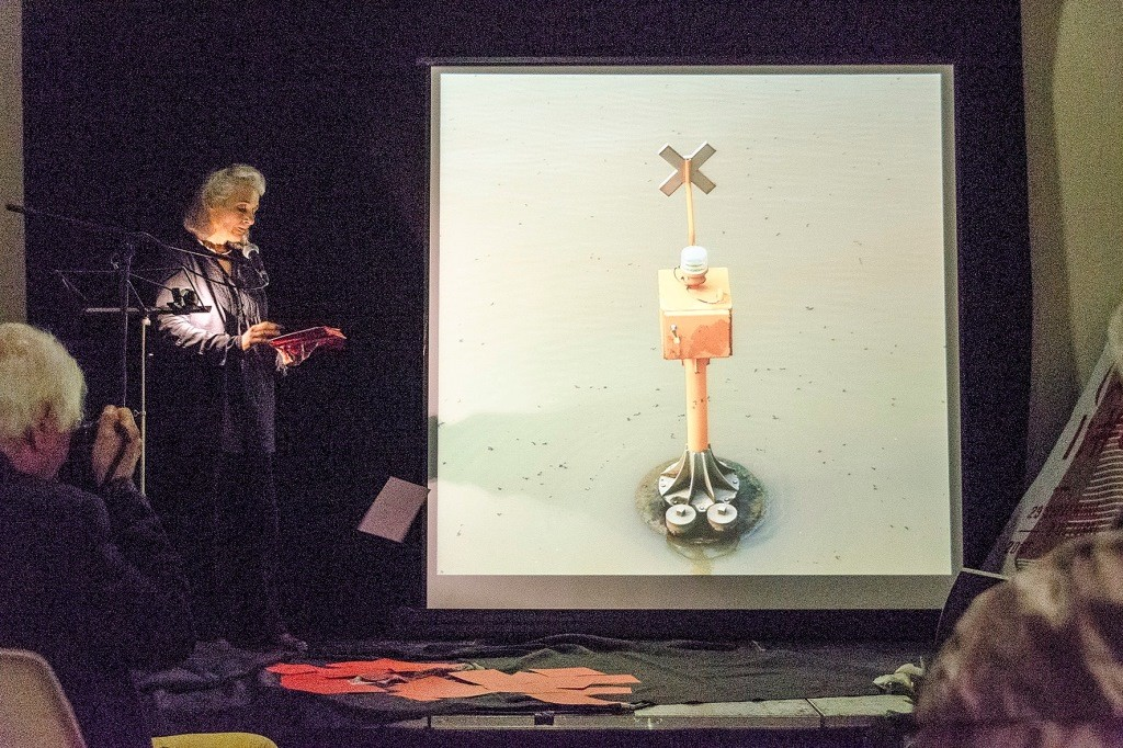 Michele Metail. Lecture performance