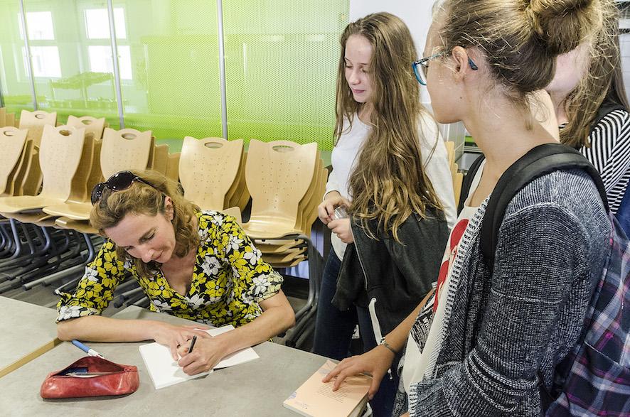 Amandine Dhée, Lycée Alain Borne
