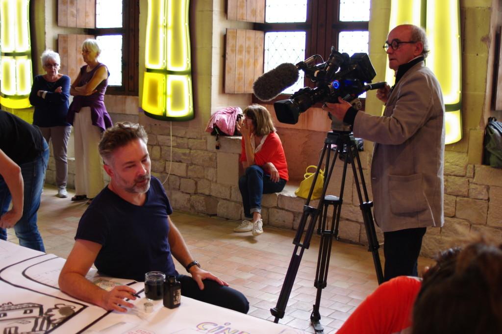 Performance participative au Château des Adhémar avec Barroux