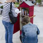 Village des cafés - Boîte à livres, à retrouver dans Montélimar...