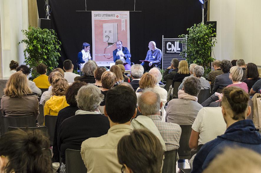 Johann Chapoutot au Salon d'Honneur - Médiation Elsa Rimboux et Stéphane Moulain