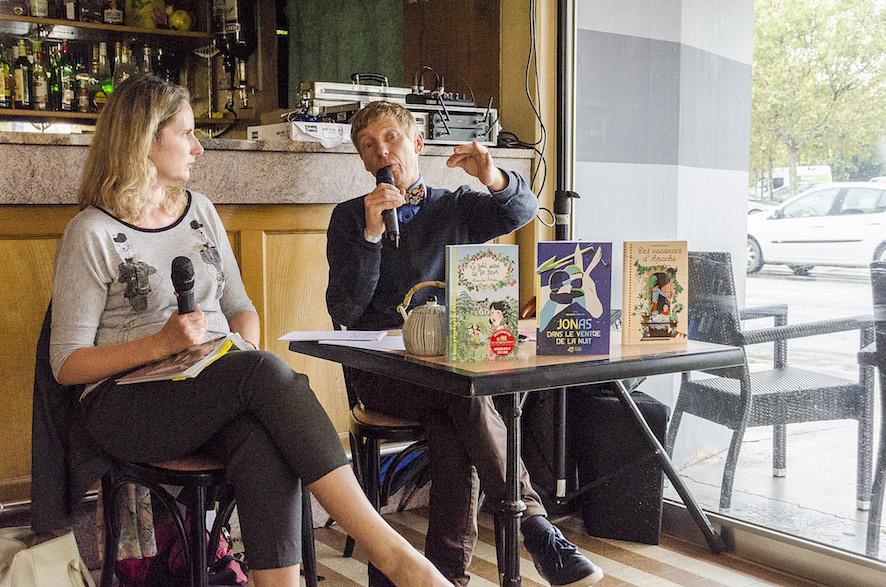 Alexandre Chardin à la Brasserie du Parc - Médiation Sophie Audigier