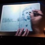 Lecture dessinée avec Marie Chartres et Joanna Concejo au Cinéma Regain, Le Teil