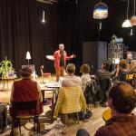 """Lecture de correspondance au Calepin Théâtre - """"La folle rencontre de Flora et Max"""" de Martin Page et Coline Pierré"""