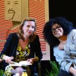 Amandine Dhée et Samira Sedira au Salon d'Honneur - Médiation Thierry Caquais