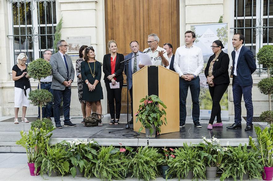 Inauguration aux Village des Cafés