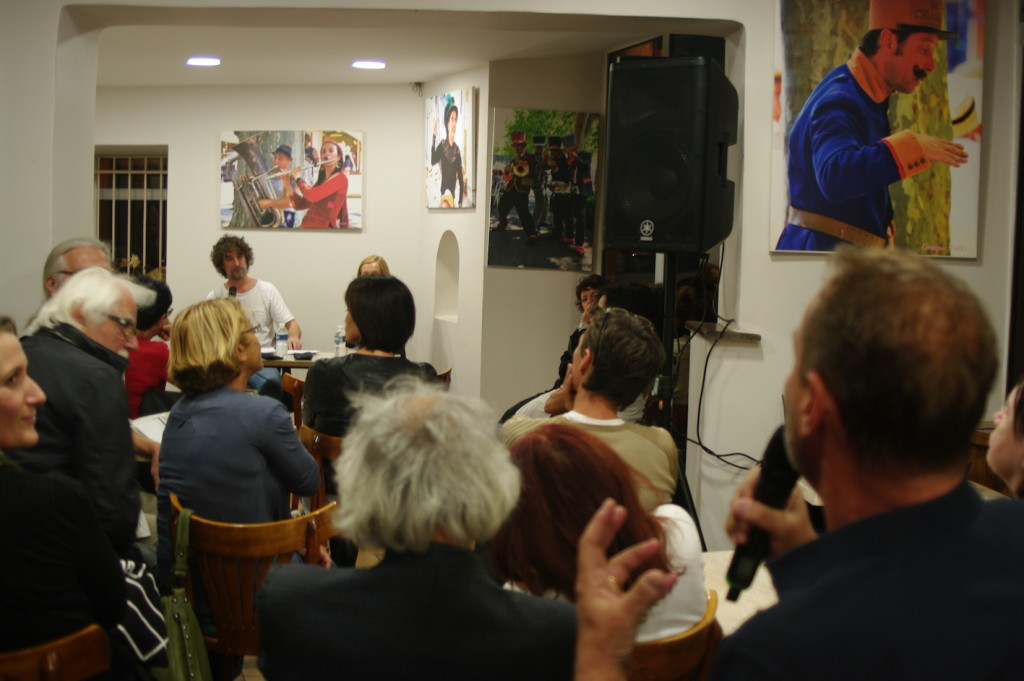 Erwan Larher à l'Annexe - Médiation Emmanuelle Caminade