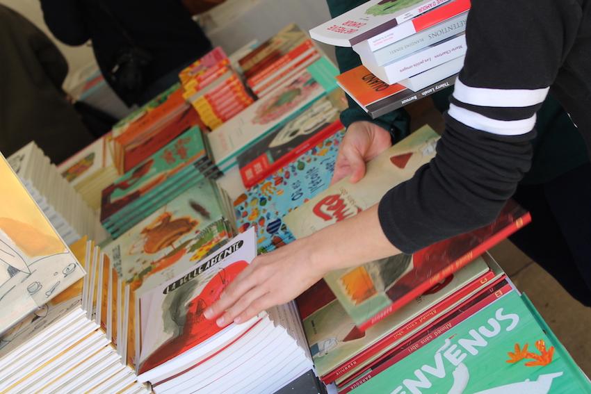 La Nouvelle Librairie Baume sur le Village des Cafés © D.R.