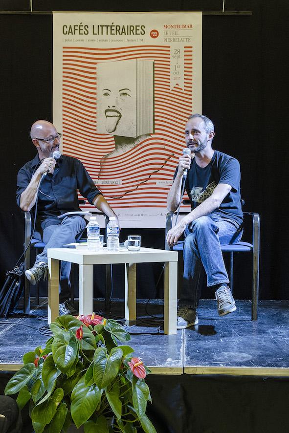 Colin Niel au Salon d'Honneur - Médiation Thierry Caquais