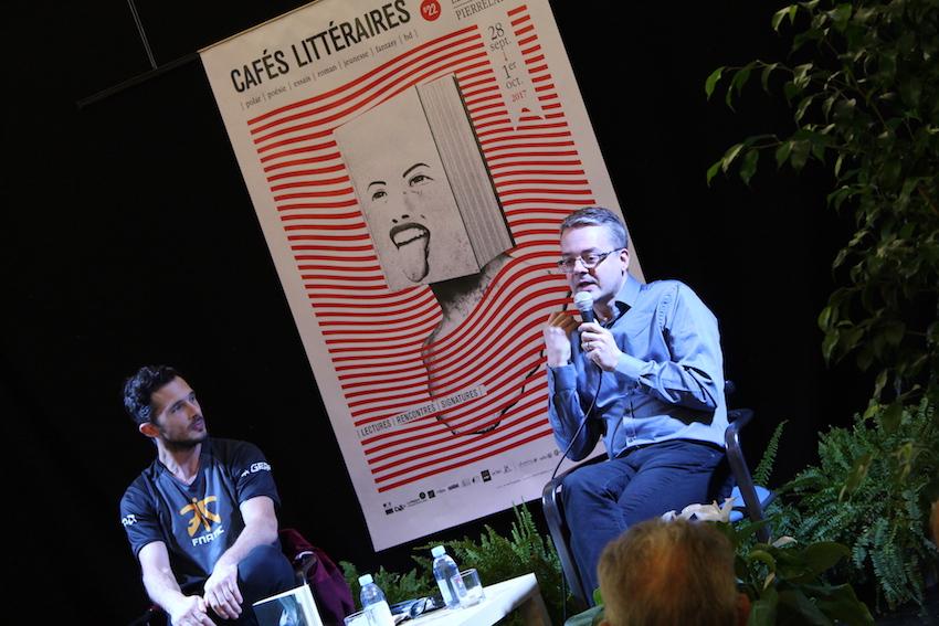 Olivier Paquet au Salon d'Honneur - Médiation Thomas Pagotto © D.R.