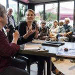 Nathalie Peyrebonne à La Bourse - Médiation avec Danièle Maurel