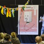 Poésie Performance - Patrice Luchet au Salon d'Honneur