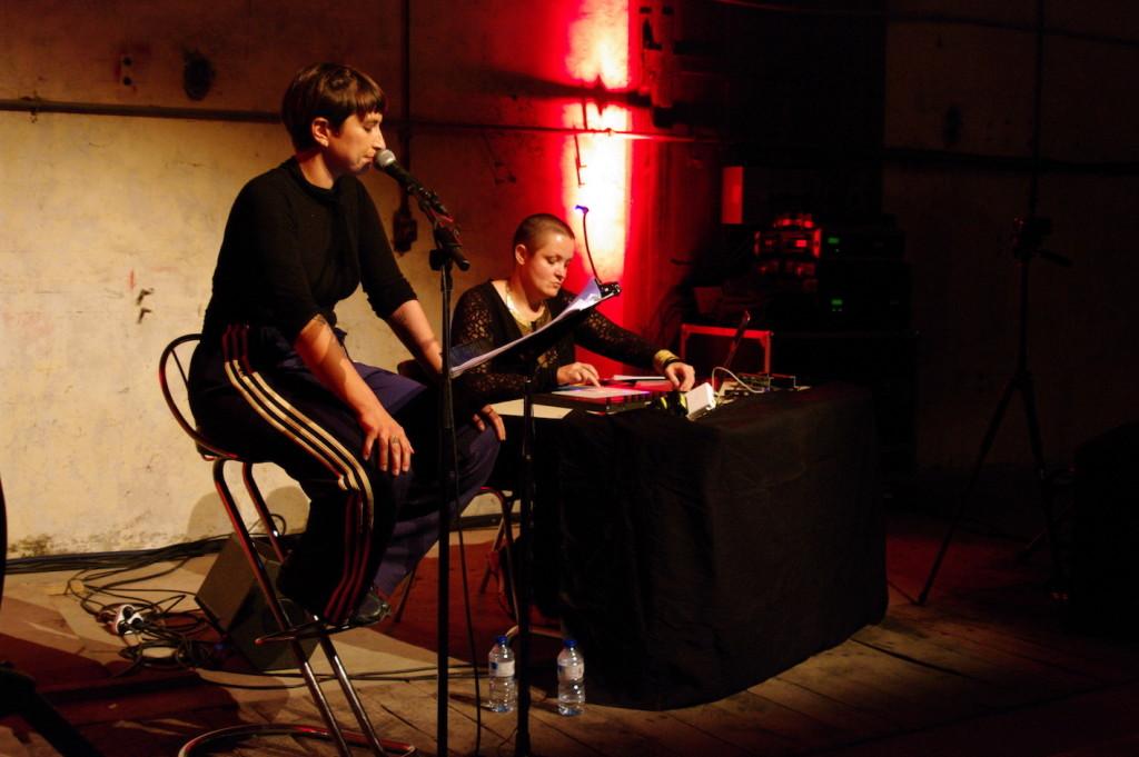 """Lecture et performance musicale """"Jusqu'à la bête"""" - Anciens abattoirs Le Teil"""