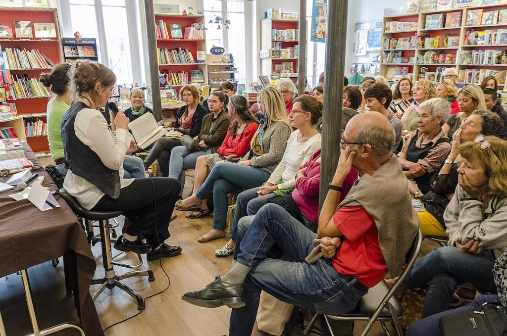 Emmanuelle Favier et Carole Martinez à la Librairie Baume