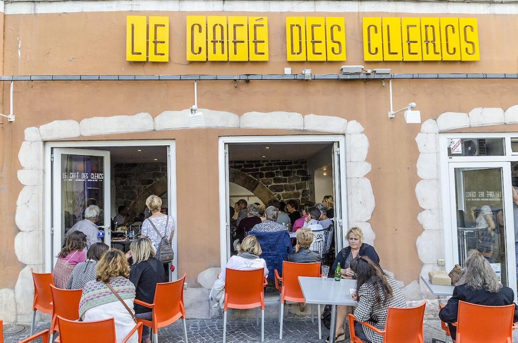 Jacky Schwarzmann au Café des Clercs