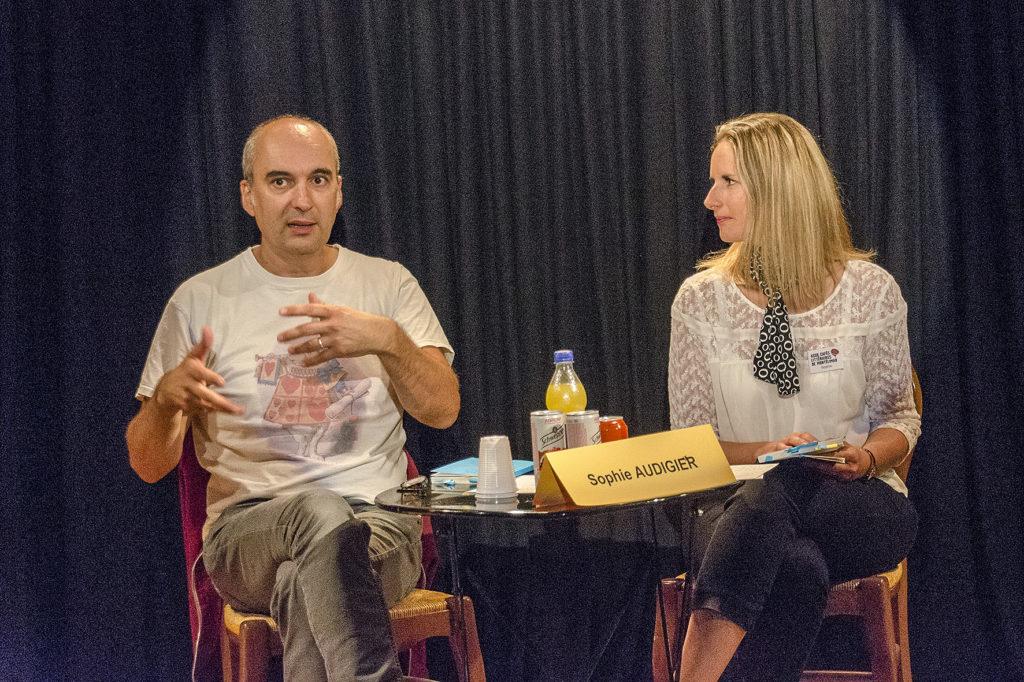 Éric Pessan avec Sophie Audigier. La Petite Scène.